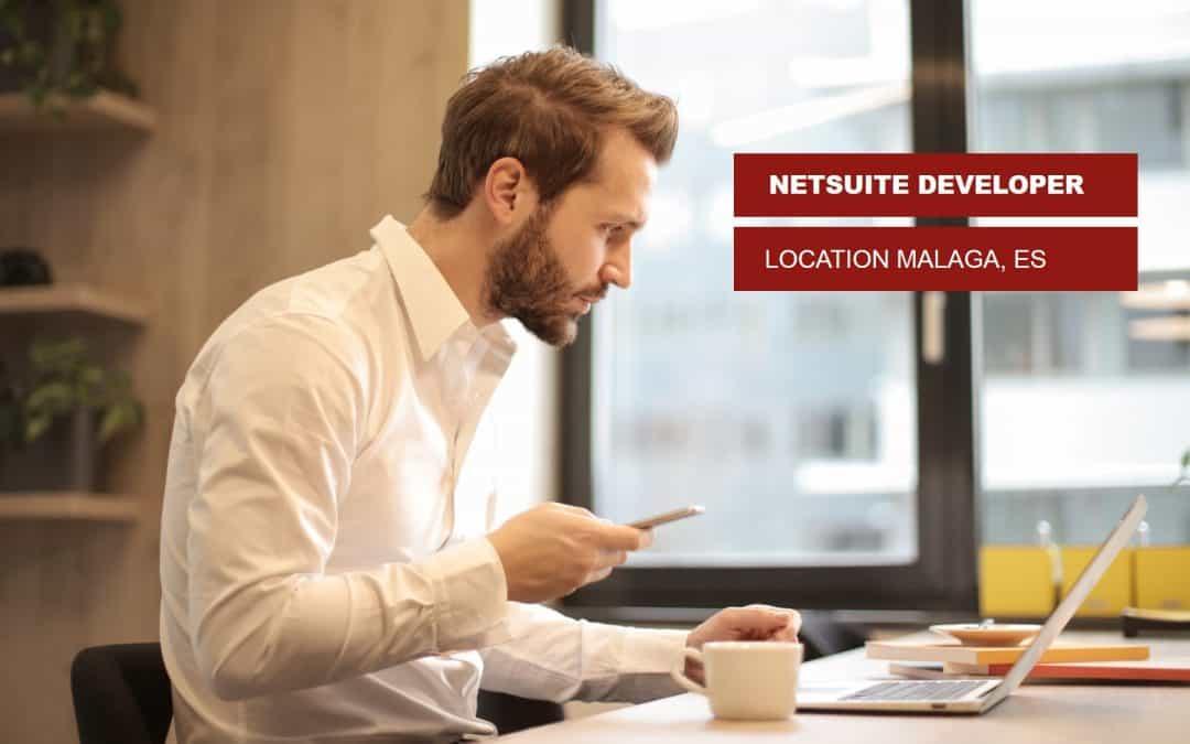 Vacature NetSuite Developer in Malaga