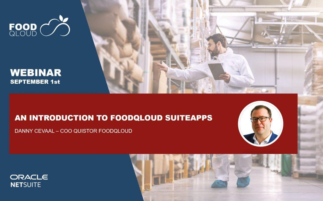 webinar suiteapp foodqloud netsuite
