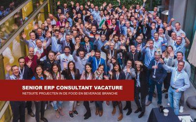 Vacature Senior ERP consultant